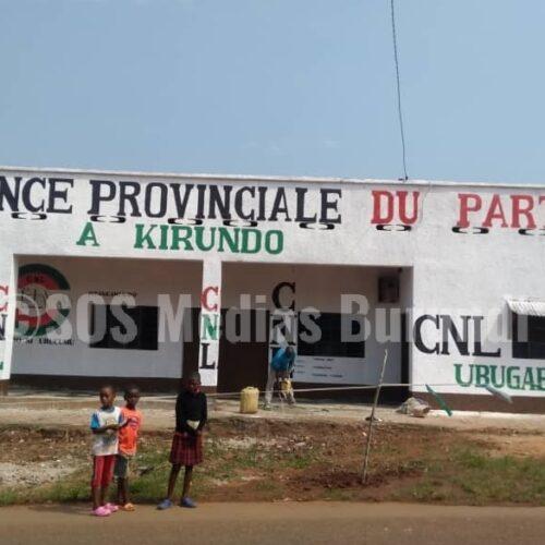 KIRUNDO : tension autour de l'ouverture d'une permanence du CNL