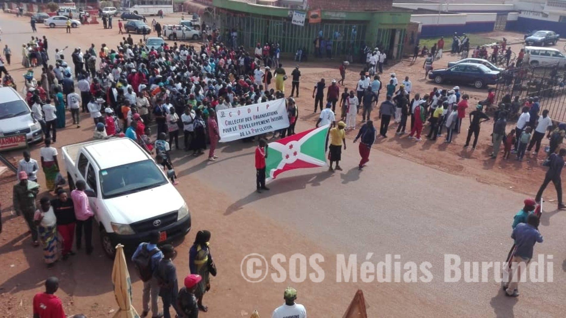 Gitega : marche manifestation contre les récents rapports sur le Burundi