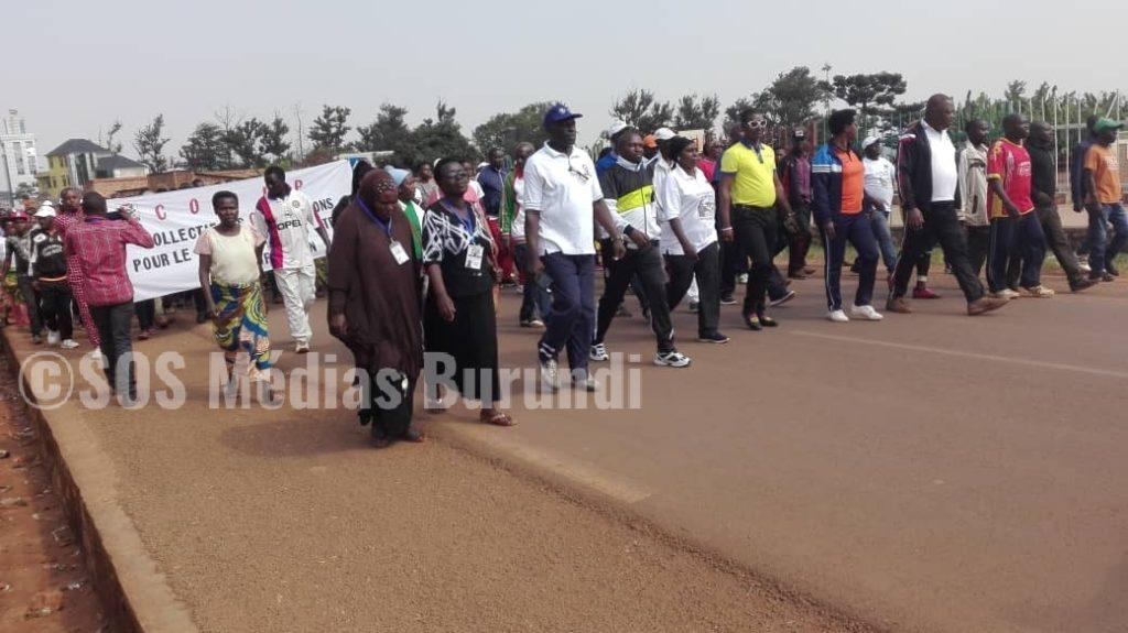Burundi Gitega manifestation HRW ICG