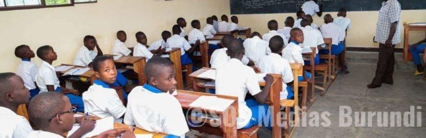 Burundi élève éducation