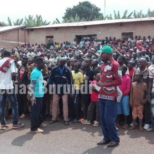 KAYANZA : une trentaine de militants CNL en détention