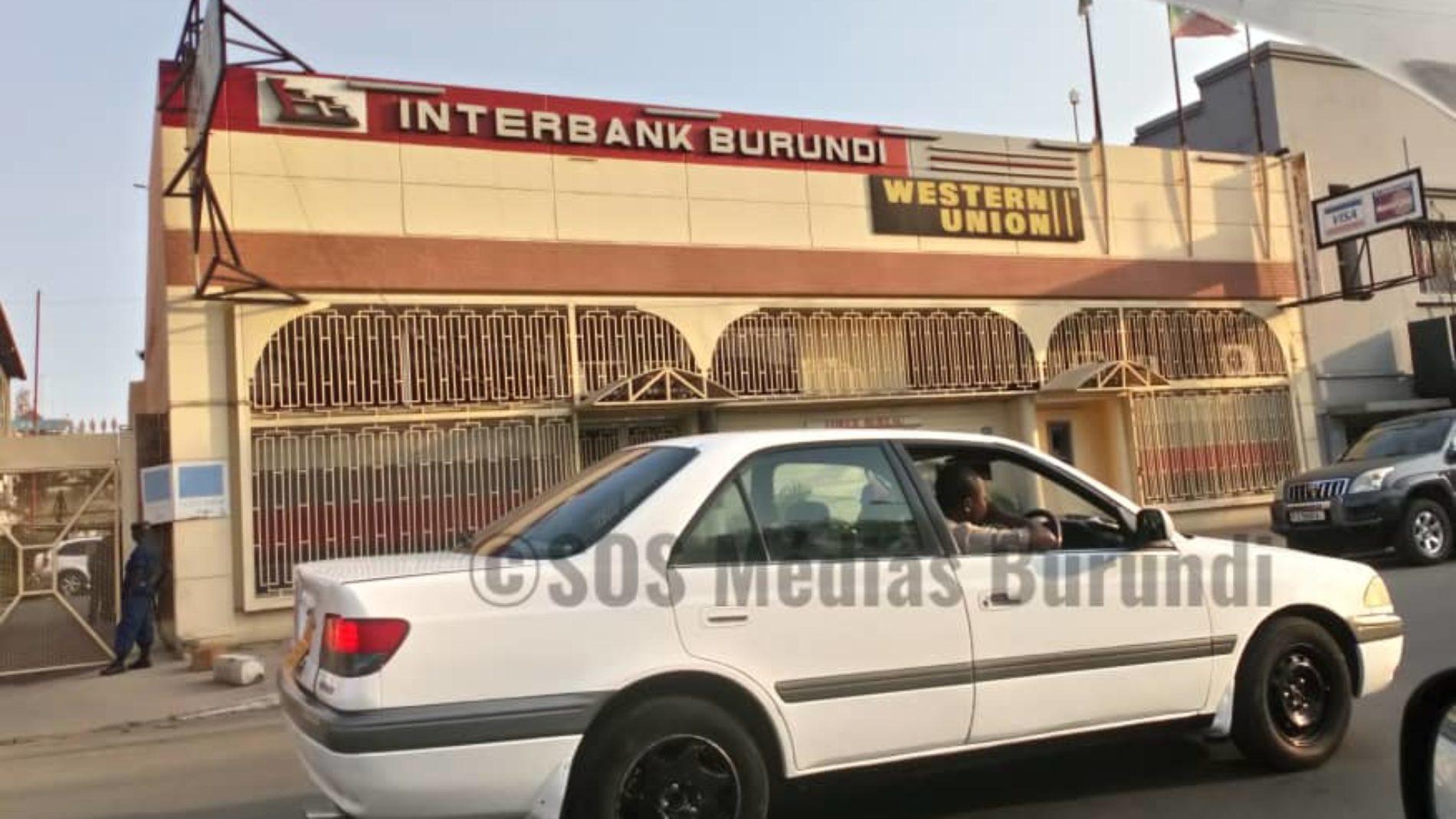 l'Interbank Burundi accusée de financer les rebelles basés au Congo