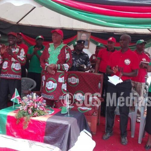 Buhiga (Karusi) : le président du parti CNL demande à ses membres de se préparer aux élections