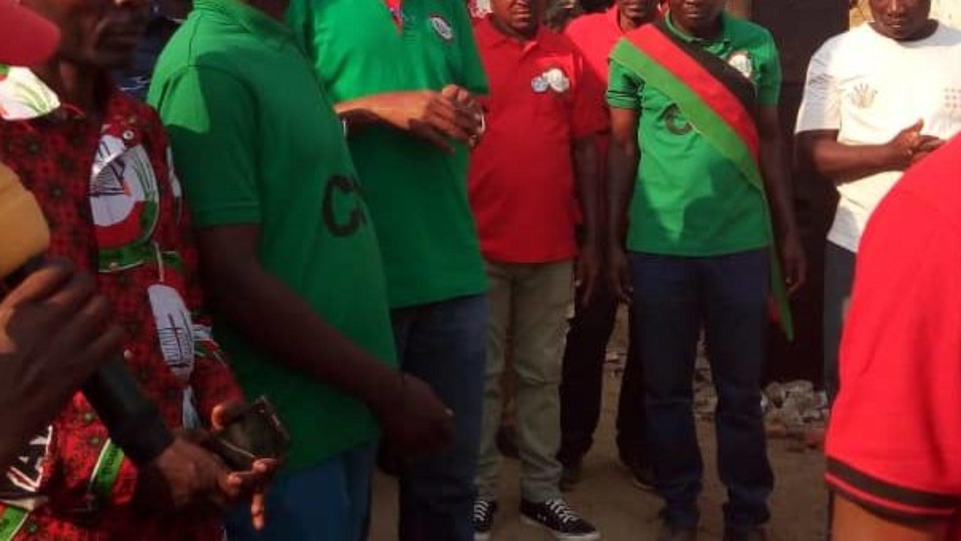 Rumonge : le président du parti CNL appelle ses militants à ne pas se venger contre l'intolérence dont ils sont victimes