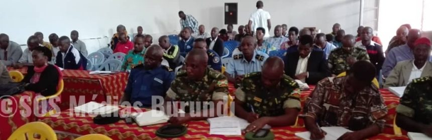 Burundi Gitega Médias
