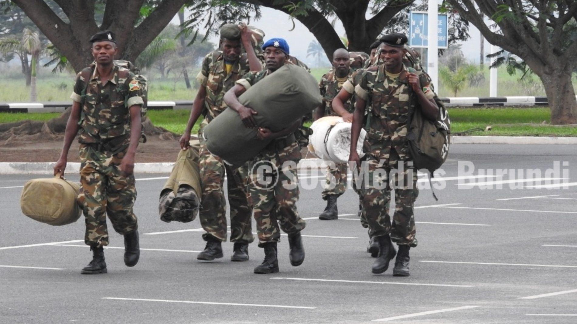 Burundi: le gouvernement reconnait le retard dans le payement de ses militaires en mission de maintien de la paix