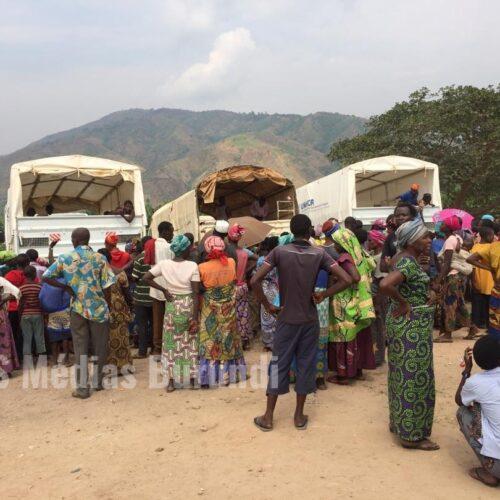 Lusenda (RDC) : Plus de 80 réfugiés burundais rapatriés volontairement