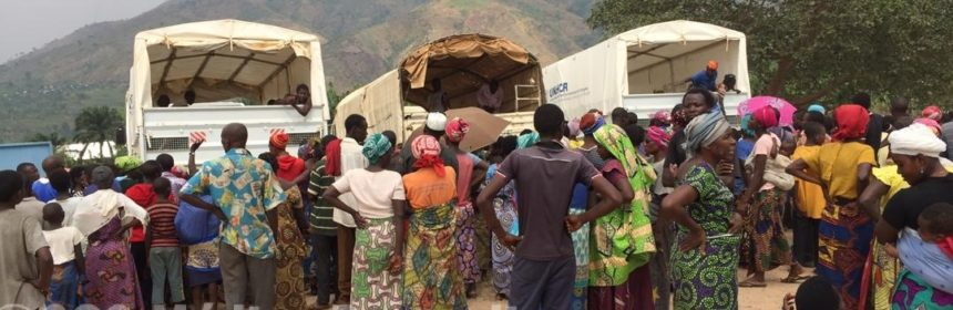 Burundi RDC Lusenda réfugié HCR