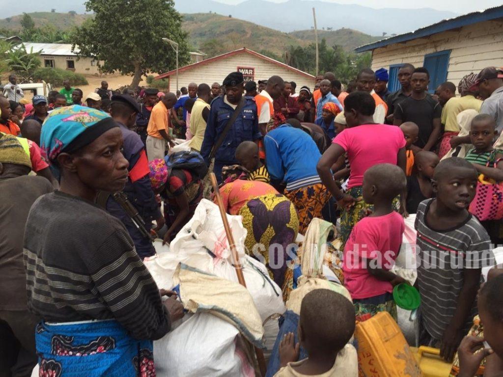 Burundi RDC Lusenda réfugiés