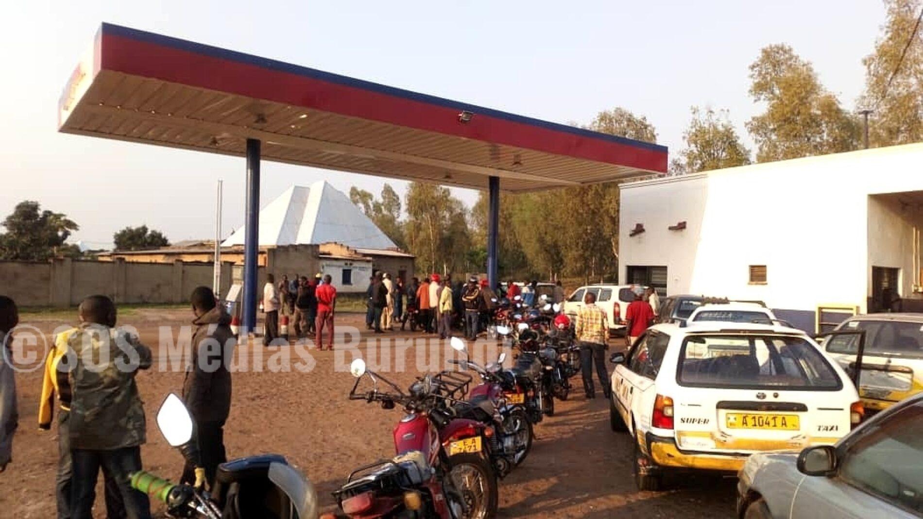 Cibitoke : manque criant d'essence, des policiers accusées de fraude