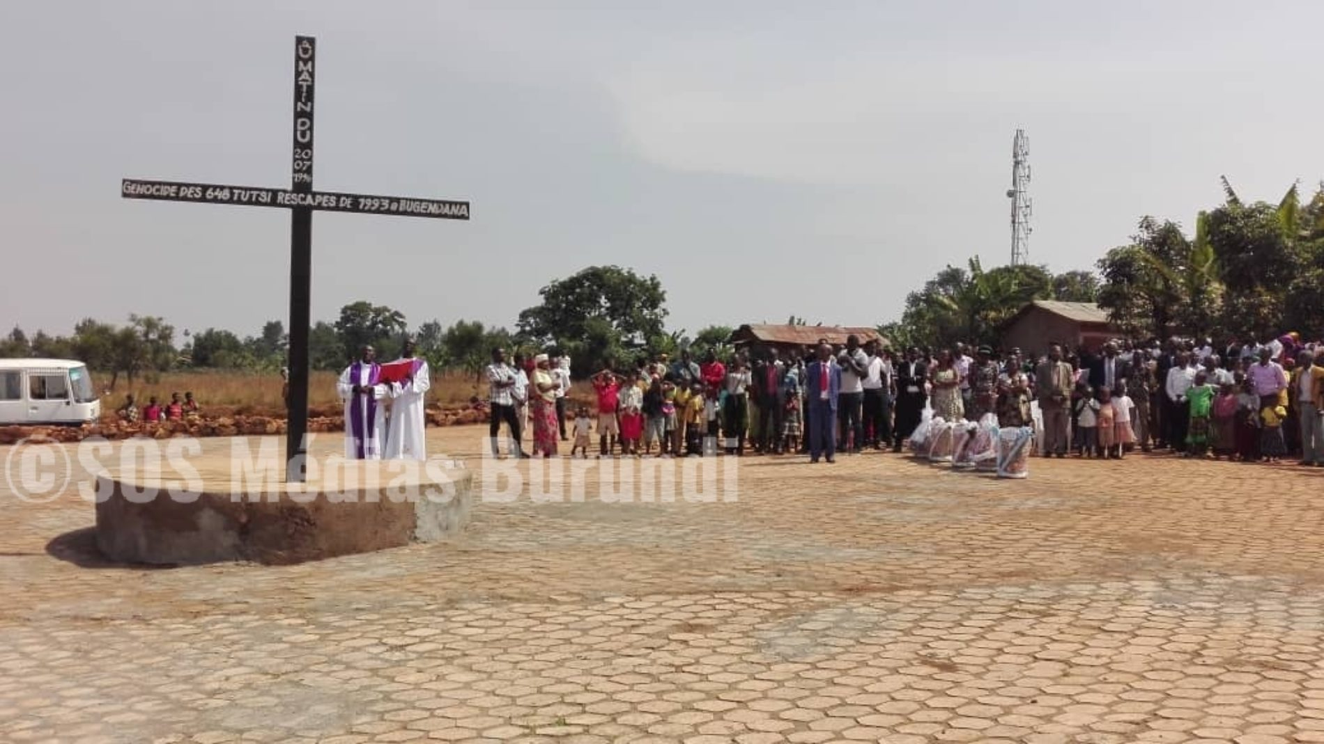 (Gitega) : 23ième commémoration du massacre de plus de 600 tutsi au site des déplacés de Bugendana