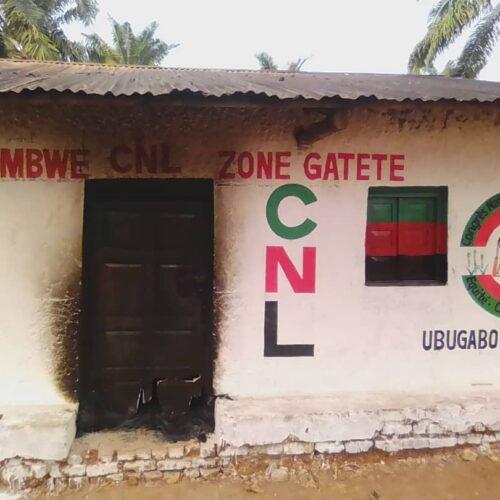 Rumonge : incendie à la permanence du parti CNL en zone de Gatete