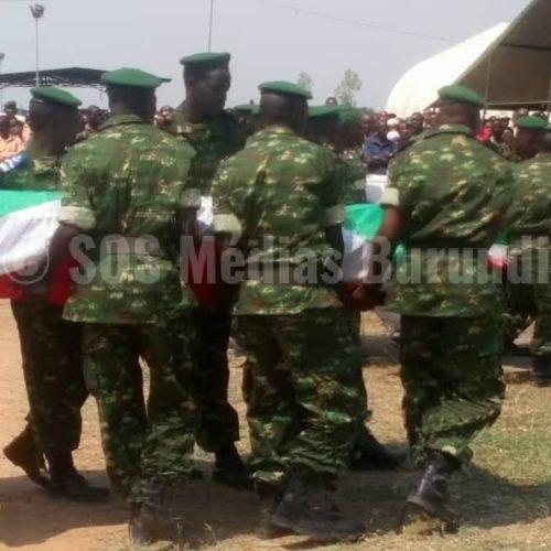 AMISOM : enterrement des 7 militaires burundais tués en Somalie