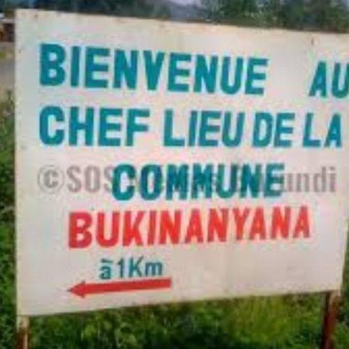 Bukinanyana : découverte d'un corps