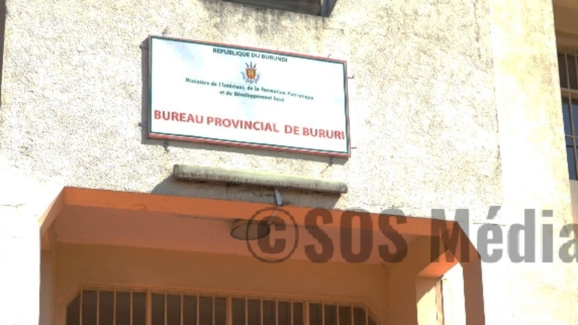 Bururi : douze militants du parti UPD-Zigamibanga transférés à la prison.