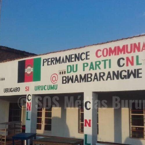 Bwambarangwe/ Kirundo : des représentants du CNL arrêtés de nouveau après leur relaxation