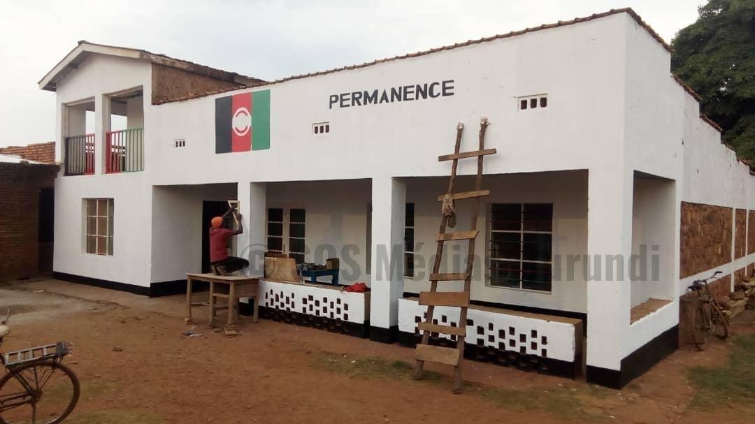 KIRUNDO : Une  personne sous les verrous pour avoir peint la permanence du CNL