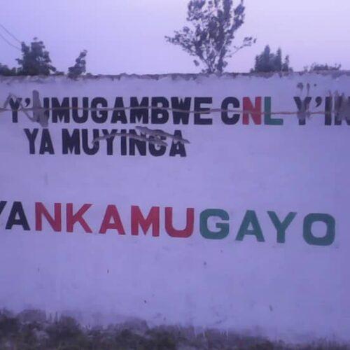 Muyinga : Une tailleuse de vêtements bannie du marché  pour avoir confectionné des uniformes du CNL