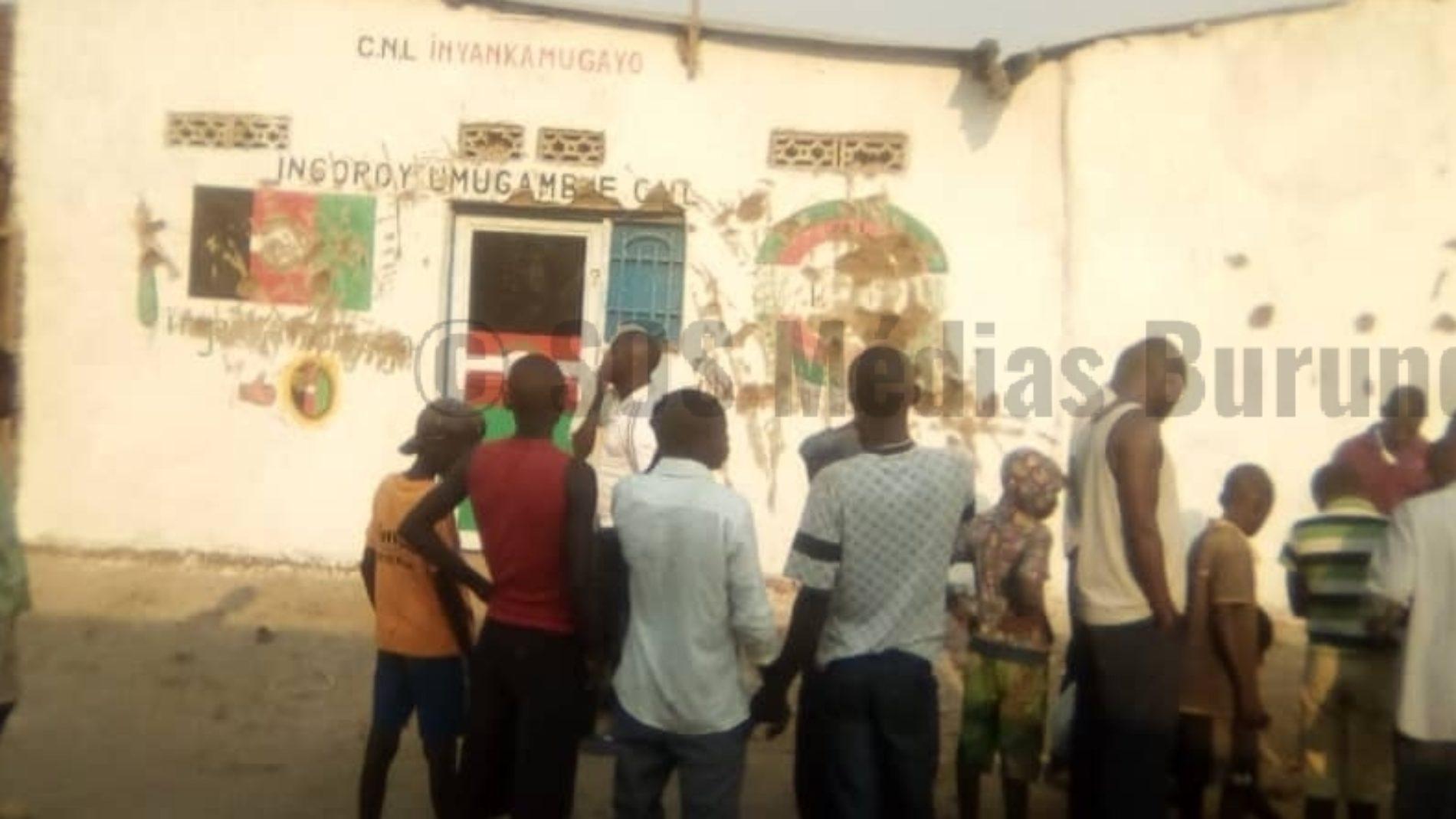 Bubanza (Gihanga): des Imbonerakure s'opposent à l'ouverture de la permanence du parti CNL