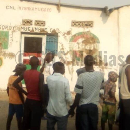 Burambi ( Rumonge) : libération des Imbonerakure soupçonnés d'avoir démoli la permanence du parti CNL