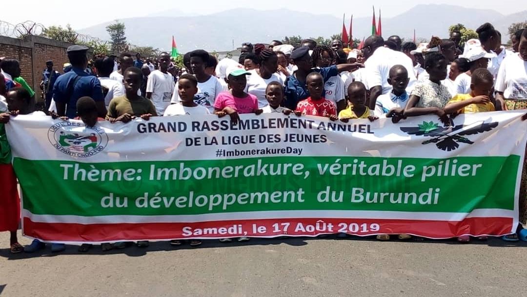 Les imbonerakure appelés à redoubler de vigilance à l'approche des élections