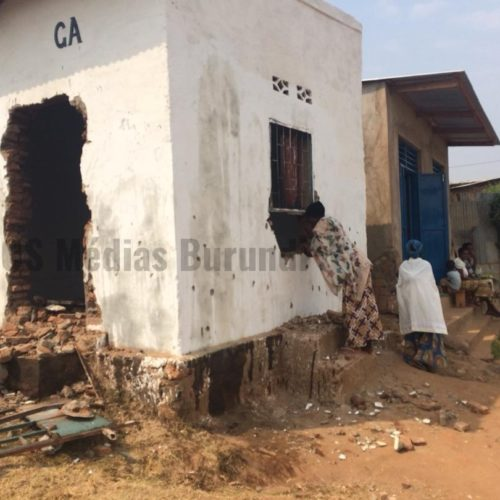 Kanyosha (Bujumbura Mairie) : la permanence du CNL  vandalisée
