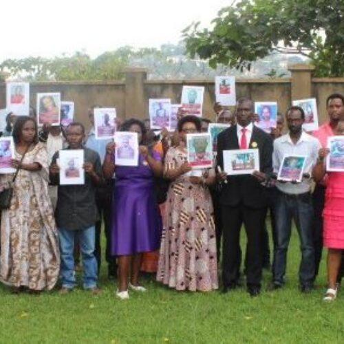 Kampala (Uganda) : marche en mémoire des disparus au Burundi