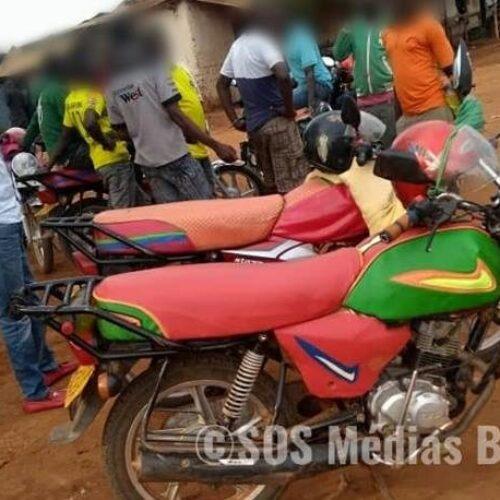 Makamba : mauvaise cohabitation entre conducteurs de taxi-moto et la police