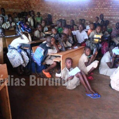 Cibitoke : Manque de salles de classe