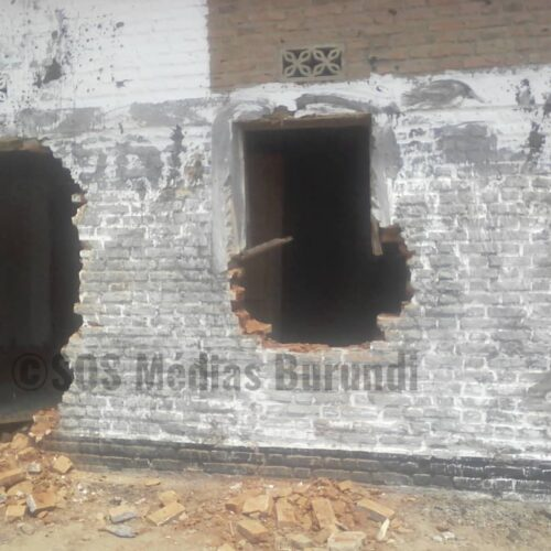 Gitobe(kirundo): La permanence du CNL détruite