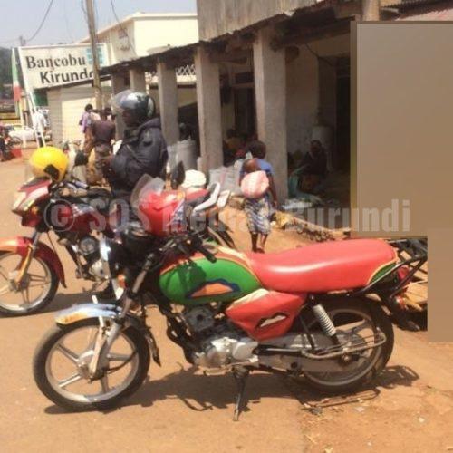 Kirundo : des motards membres des parti d'opposition empêchés d'exercer leur métier