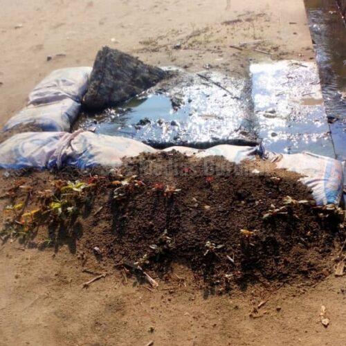 Ngagara-Bujumbura: des eaux mélangées aux excréments humains devant une clinique inquiètent