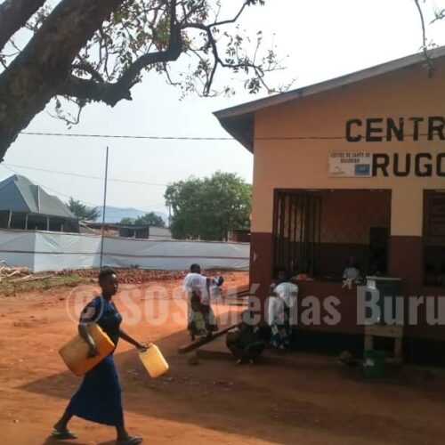 Rugombo (Cibitoke) : De plus en plus de personnes atteintes par le choléra