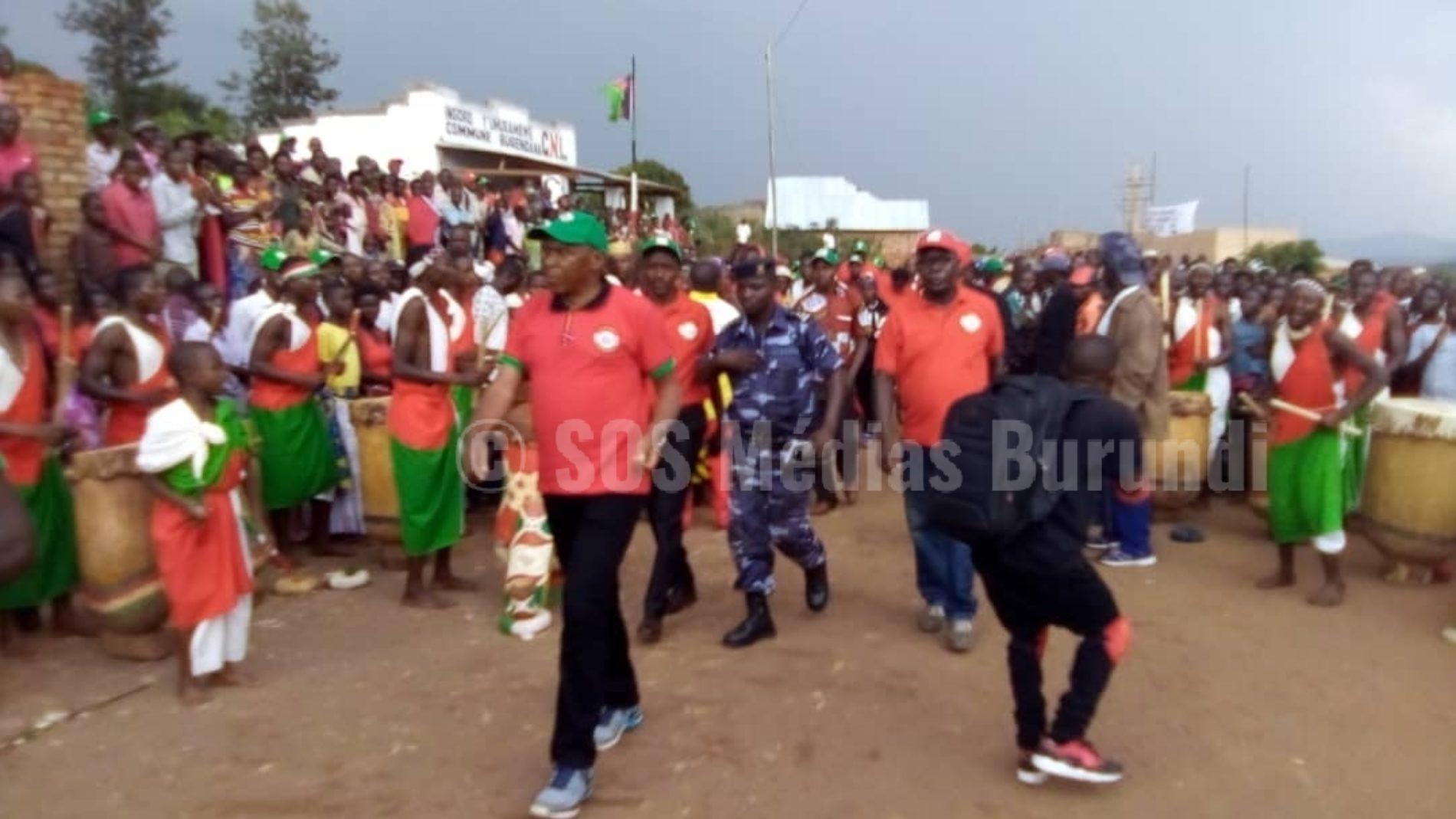 Bugendana ( GITEGA) : Agathon Rwasa plaide pour la cohabitation pacifique de tous les citoyens