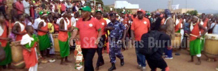Burundi CNL Rwasa - SOS Medias