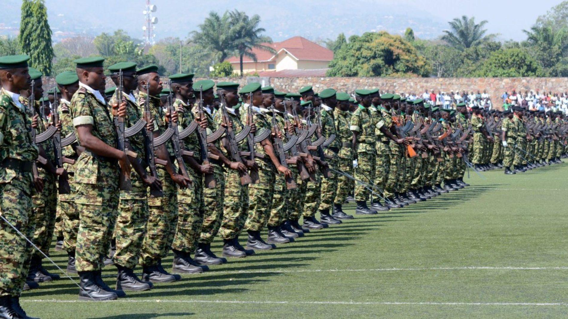 36 militaires dont 5 officiers en détention après avoir servi en Somalie -  SOS Médias Burundi