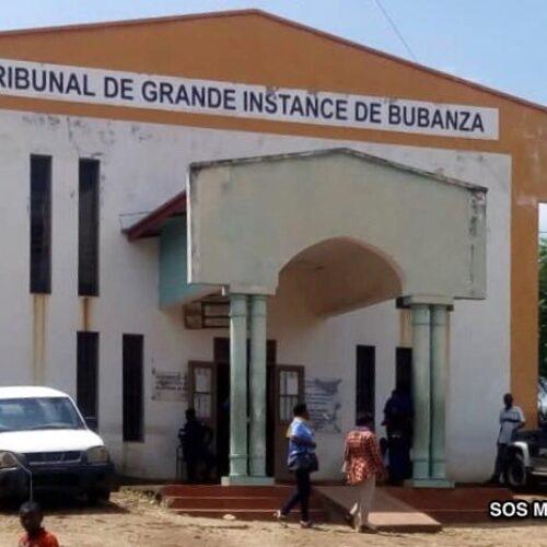 Bubanza : maintien en détention pour les journalistes d'Iwacu (tribunal)
