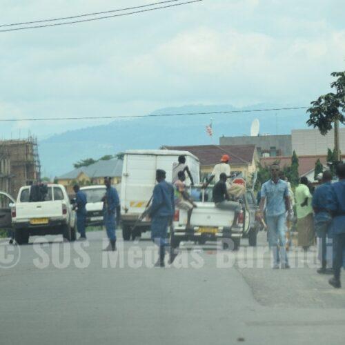 Nyakabiga: une vingtaine de personnes arrêtées lors d'une fouille