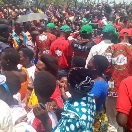 Trois membres du parti CNL interpellés à Kinyinya