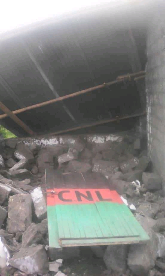 Mutumba (Karusi): Une permanence du CNL démolie