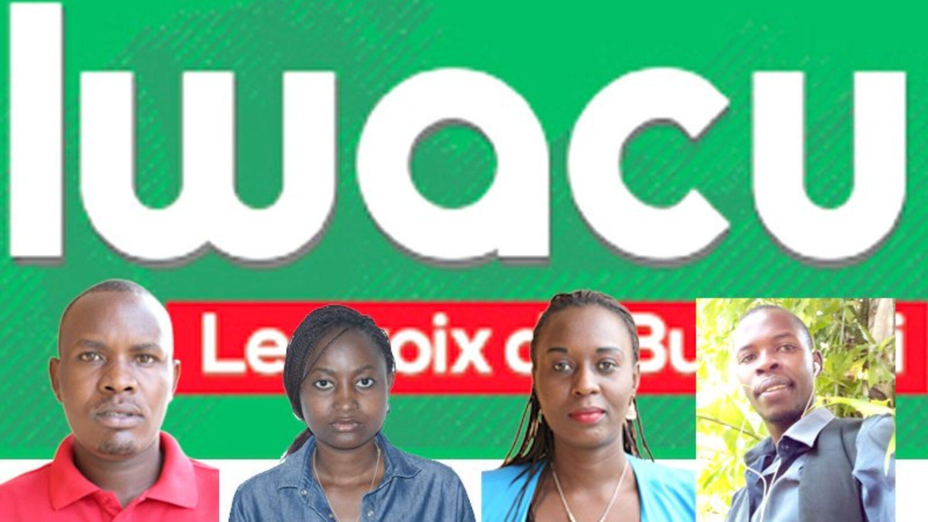 Bubanza : quatre journalistes d'IWACU et leur chauffeur détenus
