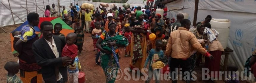 Burundi Refugies Tansanie - SOS Medias Burundi