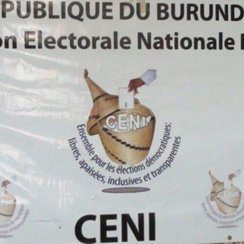 La Commission électorale nationale indépendante lance le processus d'enrôlement partiel des électeurs