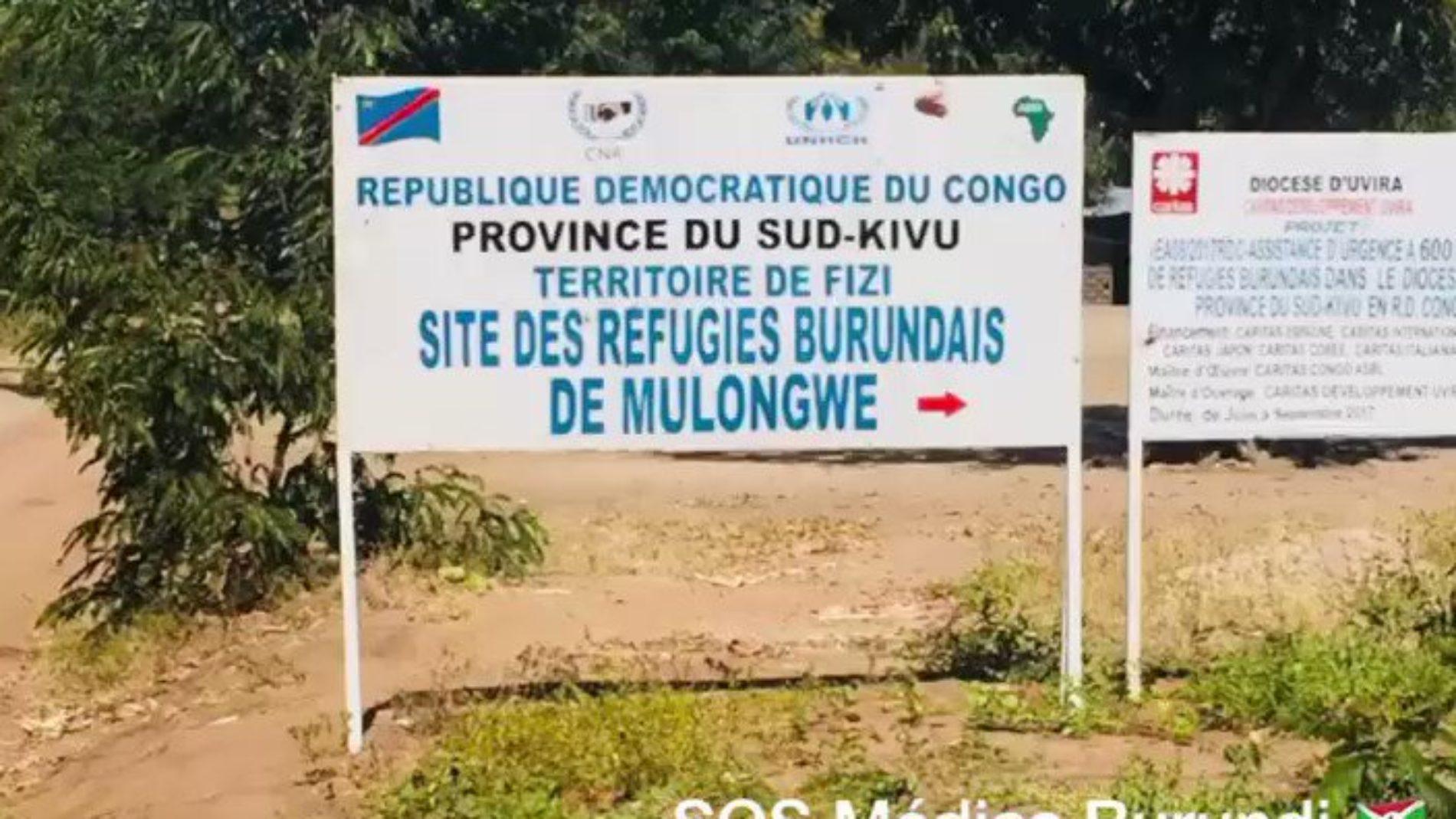Covid-19: des camps de réfugiés burundais en RDC sur le qui-vive