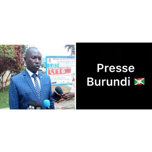 Burundi : le ministre de l'intérieur impose le silence aux journalistes durant la période électorale