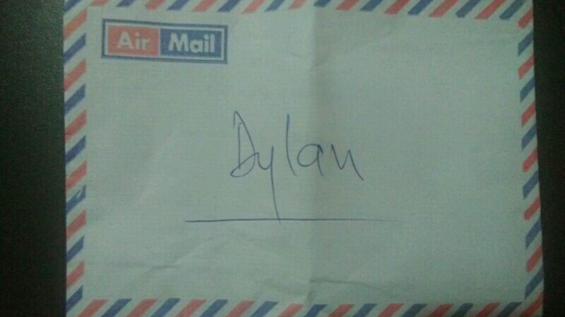 La lettre à Dylan
