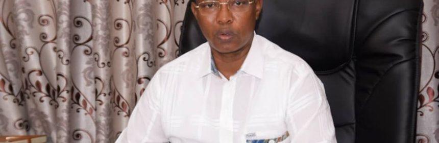Freddy Mbonimpa, maire de la ville de Bujumbura