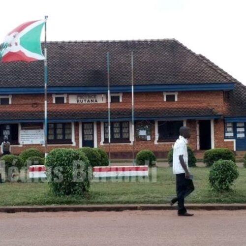 Makamba-Rutana : deux responsables policiers limogés