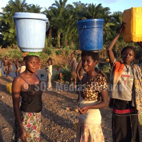 Les réfugiés burundais du camp de Lusenda( Sud-Kivu en RDC) font face à une pénurie d'eau