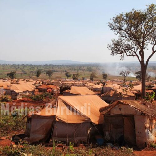 Mtendeli (Tanzanie) : le marché central du camp détruit